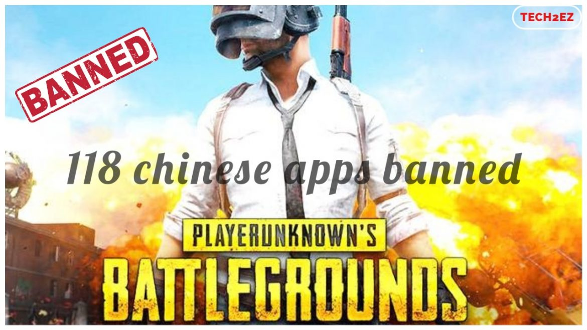 PUBG Banned by Centre, among 118 Chinese mobile apps