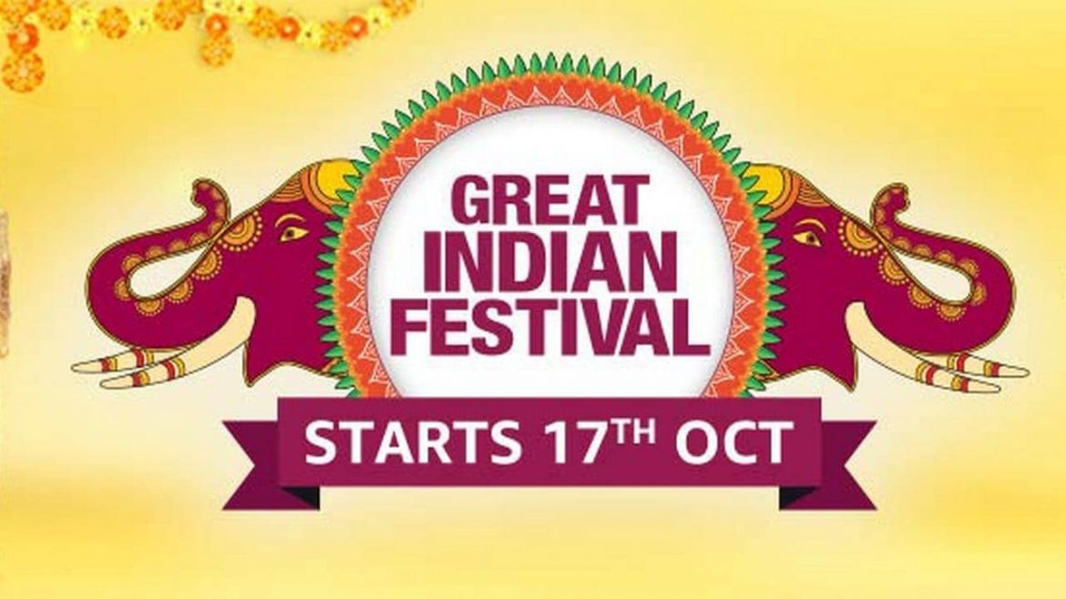 Amazon great Indian festival sale begins on 17th October